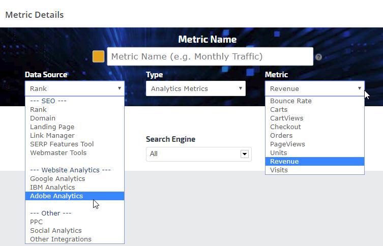Adobe Analytics metrics