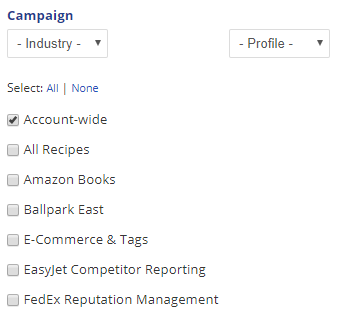 select campaigns