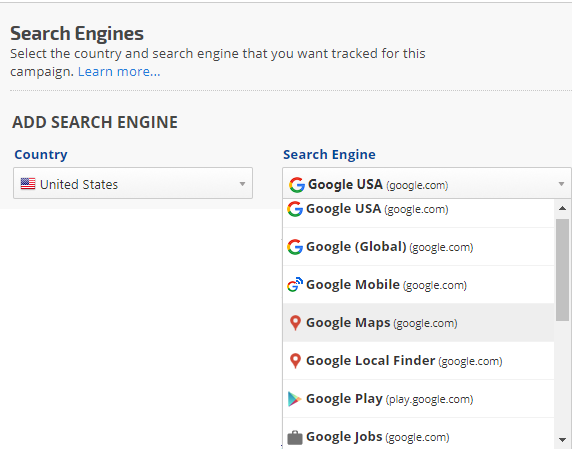 USA Search Engines
